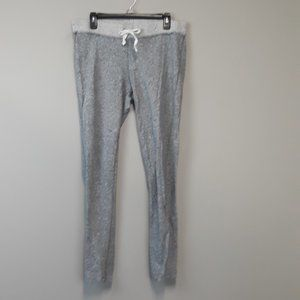 J.Crew Gray Knit Drawstring Sweatpants size Large